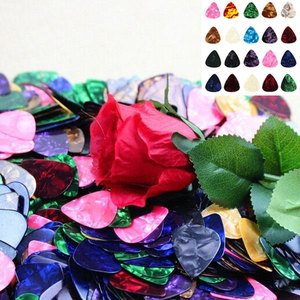 Image 4 - 10/20 Pcs New Acoustic Picks Plectrum Celluloid Electric Smooth Guitar Pick Accessories 0.46mm 0.71mm 0.96mm