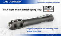 Free Shipping Original JETBEAM DDA20 Cree G2 LED 285 Lumens Flashlight Daily EDC Torch Compatible With