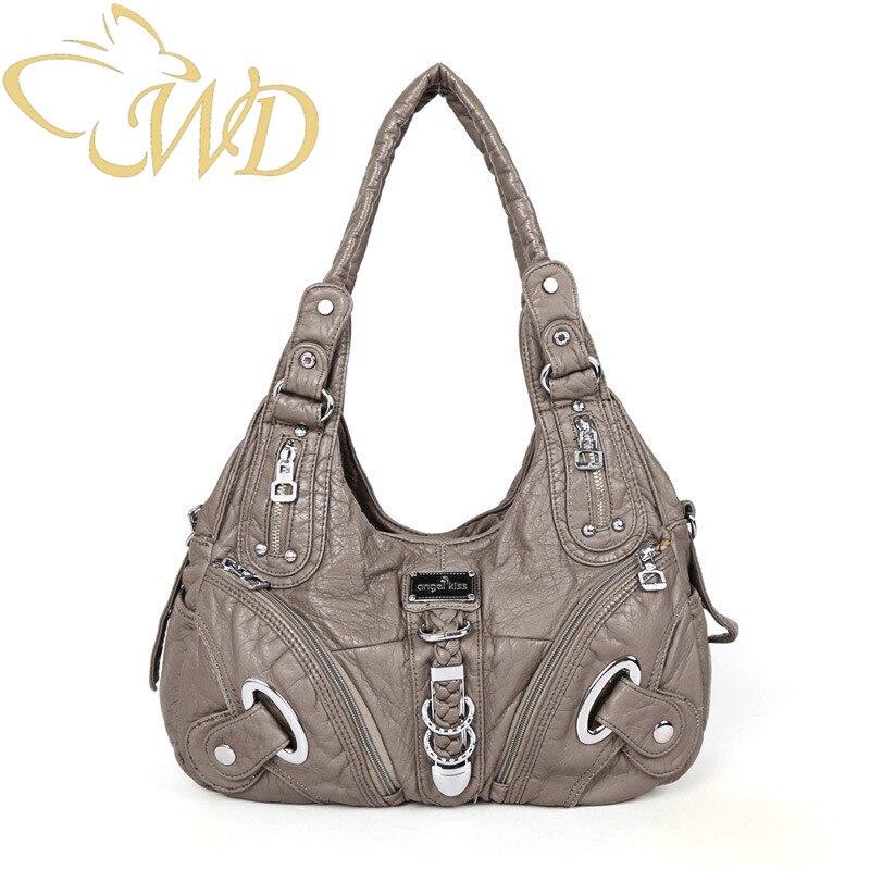 Explosion ladies bag Women shoulder handbag fashion trend large-capacity portable diagonal package