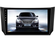 "Deckless Quad Core 10.1 ""Android 6.0 Dvd-плеер Автомобиля для Nissan SYLPHY/B17 2013 gps navi РАДИО 3 Г стерео головные устройства ленты рекордер"