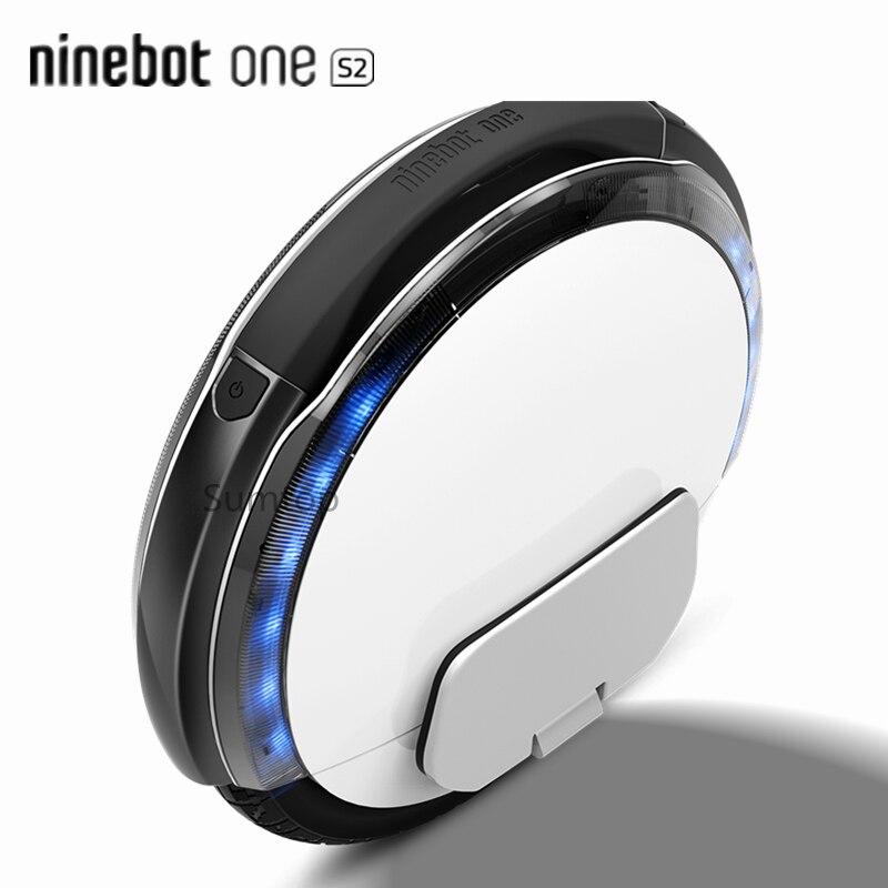 Originale Ninebot da Segway Un S2 Monociclo Monowheel Elettrico Intelligente di Auto Bilanciamento del Motorino Singola Ruota EUC Skate Hover Bordo