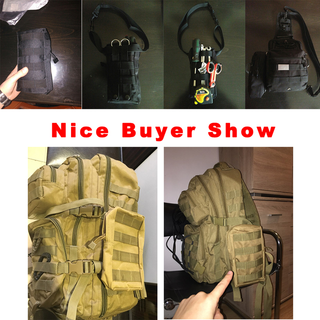 Airsson Sports Military 600D MOLLE Pouch Bag 6