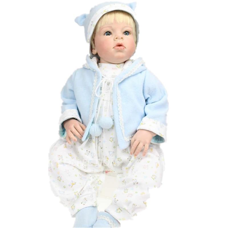 Série Emulational Bebê Vinil Boneca Reborn Arianna 1 70 cm Boneca Reborn Silicone Macio Da Criança Do Bebê Anos de Idade Roupas Modelo