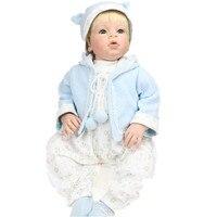 Arianna серии Emulational винил кукла реборн 70 см мягкие силиконовые возрождается одежда для малышей Кукла 1 год Костюмы модель