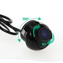 360 Grados Impermeable Mini Gran Angular HD CCD Cámara de Visión Trasera Del Coche Con la Imagen de Espejo Convertir la Línea de Copia de seguridad Cámara de Marcha Atrás