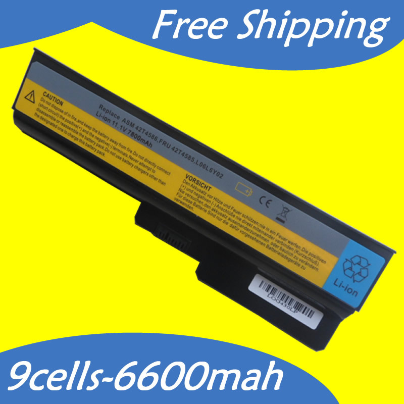 JIGU Laptop Battery IdeaPad G430 For Lenovo 3000 B460 G530 G550 N500 G555 G455 G450 B550 L06L6Y02 L08L6Y02 L08O6C02 L08S6D02