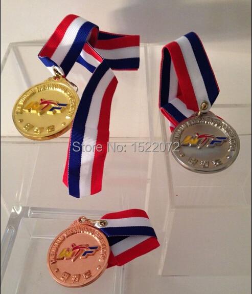 Hög kvalitet och lågt pris TaeKwon Do WTF Medalj GULL SILVER BRONZE - Heminredning - Foto 1