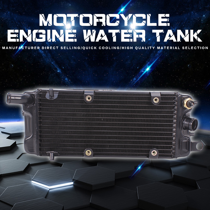 Water Tank Radiator Cooler Water Cooling For Honda Steed400 Steed600 Steed 400 600 Shadow VT600 VLX 600 Motorcycle Accessories цена