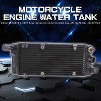Refrigerador del radiador del tanque de agua, refrigeración por agua para Honda Steed400 Steed600 Steed 400 600 Shadow VT600 VLX 600, accesorios para motocicleta