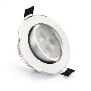 Image 5 - 8 ピース/ロット 5 ワット凹型ダウンライト、 rgb led 天井ランプスポットライト rgb コントローラ led ランプ電球ペンダント屋内照明 85 265 v