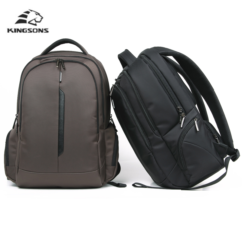 Kingsons Casual Business Laptop Backpack Men 15 Inch School Backpacks Travel Nylon Small Backpack for Male Waterproof Bag 17inch laptop backpack notebook hand bags men s computer bag laptop bag travel nylon backpacks business bag cf1718