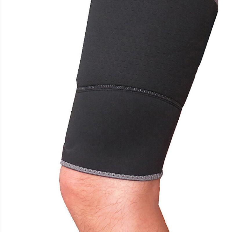 Υψηλή αναπνεύσιμη αθλητική μανίκια ποδιού Νεοπρένιο θερμότερο μηρό Τρέξιμο υπαίθρια ελαστικά ποδιές ποδηλασία ποδιών μανίκι ποδιών θερμικός προστασία ποδιού