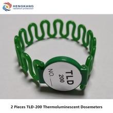 Накопительный Дозирующий контроль за ядерным излучением 2 шт. TLD-200 ручное кольцо типа термолюминесцентные персональные дозиметры