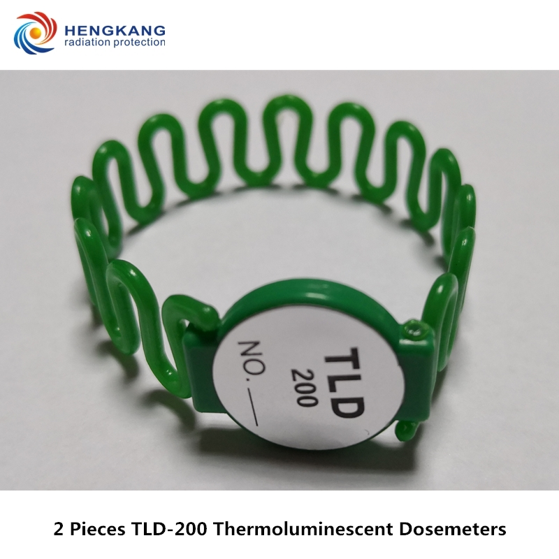 Nuclear Radiation Cumulative Dose Monitoring 2 Pieces TLD-200 Hand Ring Type Thermoluminescent Personal Dosimeters