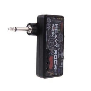Image 1 - ホットポータブルギターアンプエレキギターミニヘッドフォンアンプ軽量デザインヘビーロックコンパクト