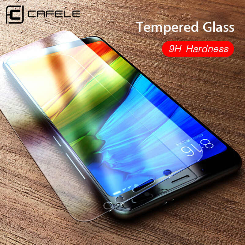 Cafele מזג זכוכית מסך מגן עבור Xiaomi 5 5S 6 8 9 A1 A2 mix2 mix3 redmi הערה 5 7 8 פרו 9H קשיות HD ברור זכוכית