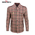 Seven7 Brand Men Jackets Cowboy Fashion Top Quality Patch Color Classic Plaid Outerwear British  Style Men Jacket Coats 805K2190