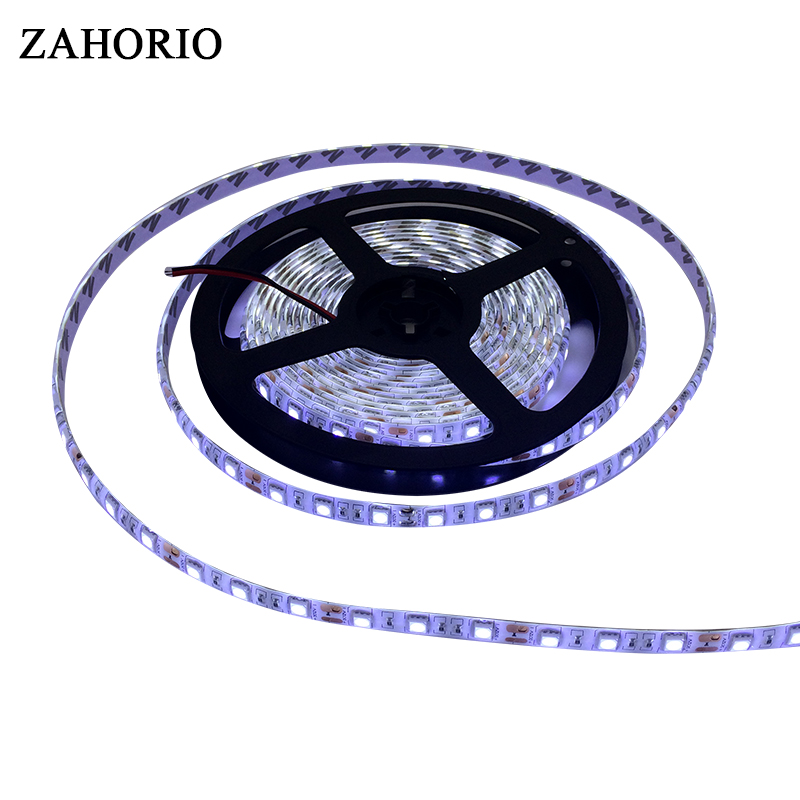 5M/Roll 2835 3528 5050 White / Warm White 300 LED Strip Light String Ribbon Led Lamp Tape More Bright Diode Tape For Decorative