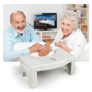 Image 3 - Складной на корточках стула Нескользящая Туалет стопы табурет, горшок ног туалет стула