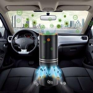 Image 3 - FA 808A تنقية الهواء المرطب سيارة أنيون الحرة الفورمالديهايد PM2.5 مرطب للعلاج بالروائح سيارة تنقية الهواء المرطب