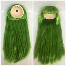 Blyth 인형 두피 blyth 인형 가발 (rbl) 녹색 22