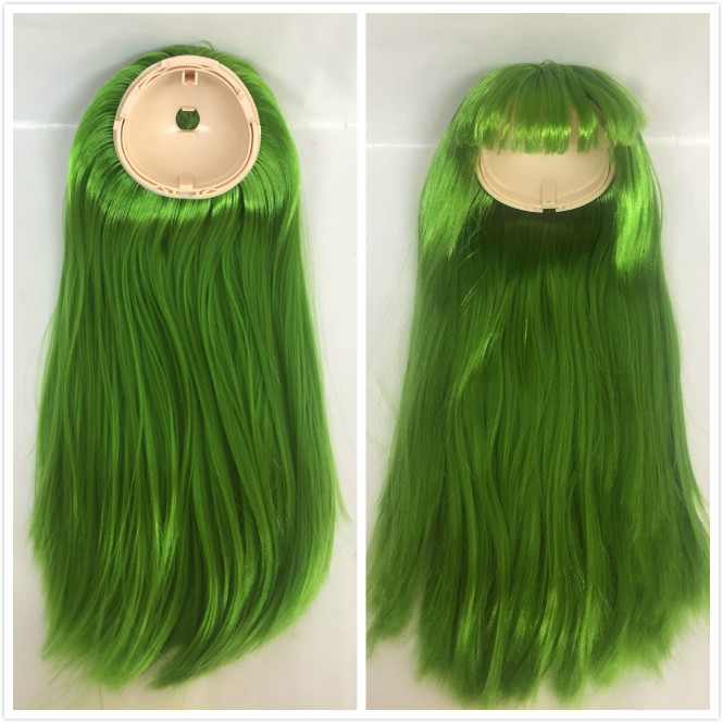 Industrious Blyth Doll Scalp Blyth Dolls Wigs(rbl) Green 22 To Suit The People'S Convenience