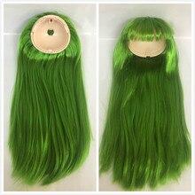 Blyth pop hoofdhuid blyth poppen pruiken (RBL) groen 22