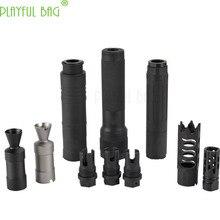 Jinming AK обновленный материал огненный колпачок глушитель 14 мм Обратный зубы Jinming11 Renxiang AK47 водяной пулемет переоборудование запчасти MI97