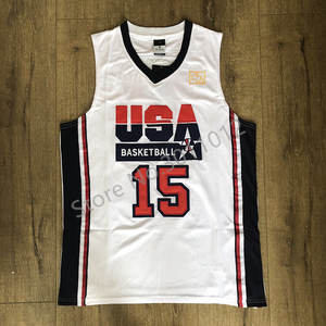 a4e5ec97cd1990 Magic Johnson 1992 Dream Team USA Vintage Olympics Basketball Jersey