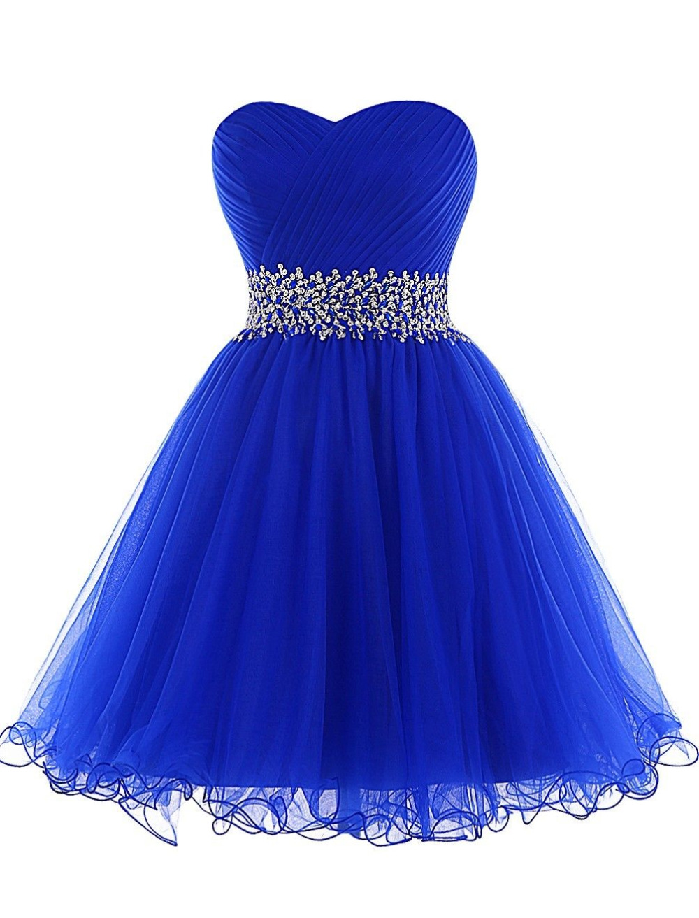 Buy Cheap Royal Blue Sequined Short Prom Dress Sexy Formal Party Gown Beading Mint Green Prom Dresses Blacke Elegant vestido de festa