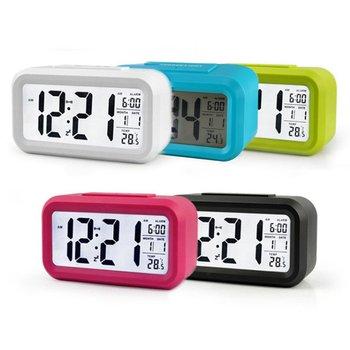 Digital Alarm Clock Indoor Outdoor Temperature digital clock