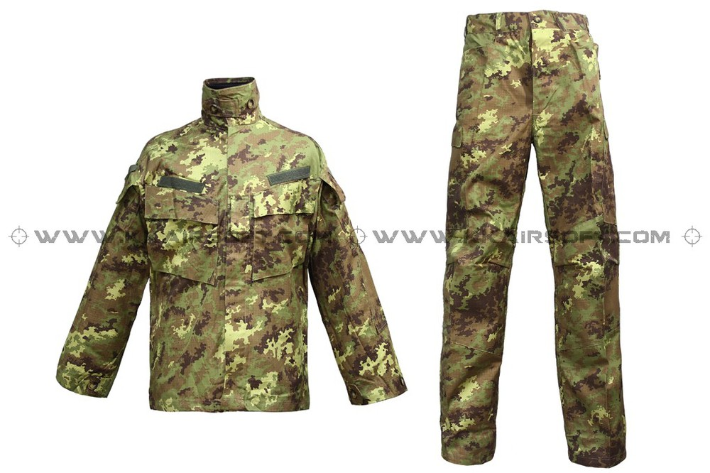 ФОТО us army military uniform for men Suit Clothing Italian woodland Pattern CL-02-IW