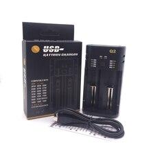 USB Battery Charger for 18650 26650 21700 18350 AA AAA 3.7V/1.2V  Li-ion NiMH battery цена