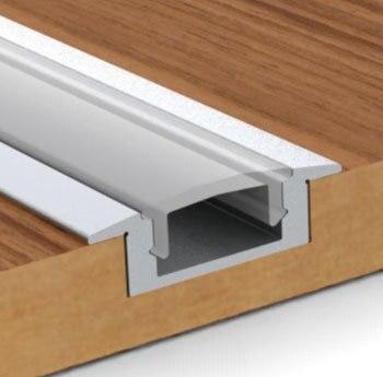Flush Mount Aluminum Led Fixture Profile Channel Housing