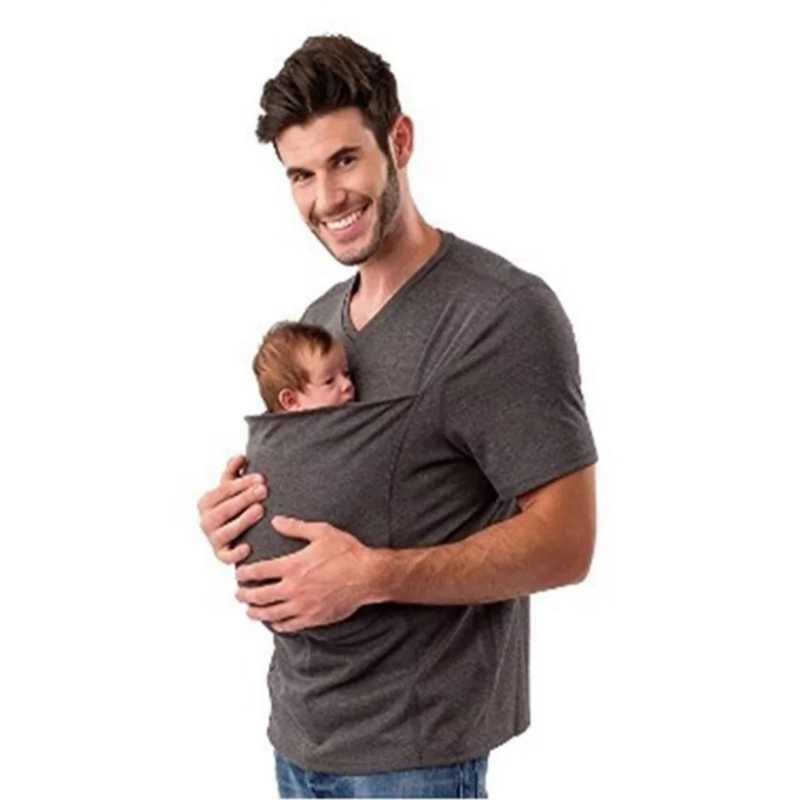 b6eb3bd6c3e88 ... 2018 Women tshirt Mother Kangaroo T shirt Parenting Baby Carrier Women t -shirt Pokemon Sleeveless
