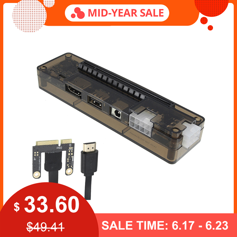 Tout nouveau PCIe PCI-E PCI ordinateur portable externe carte vidéo indépendante Dock carte Express Mini Version PCI-E pour V8.0 EXP GDC