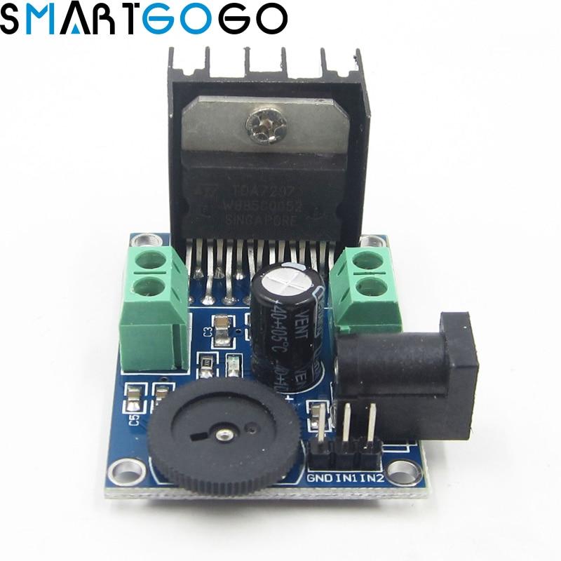TDA7297 2x15W Digital Audio Amplifier DIY Kit Dual-Channel Module Amplifier Board AC/DC 6 to 18VTDA7297 2x15W Digital Audio Amplifier DIY Kit Dual-Channel Module Amplifier Board AC/DC 6 to 18V