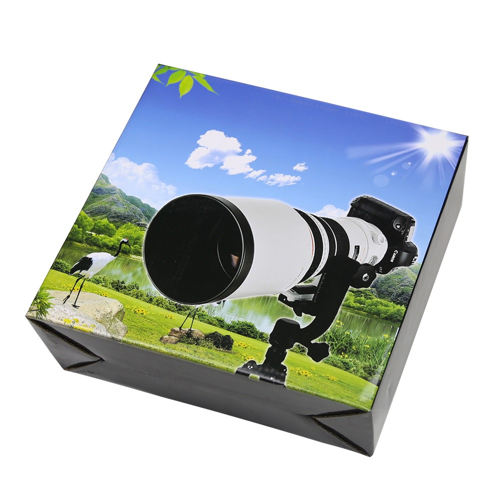 New360 Degree Panoramic Gimbal Tripod Head for Nikon Canon SONY Samsung Digital SLR Camera with Quick Release Plate Bubble Level f053 gn camera bag for canon nikon sony samsung black green