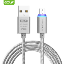 GOLF LED Display Light Micro USB Charging Cable for Samsung S6 S7 Fast Charger Android Phone Data Sync Huawei Mate 7 8