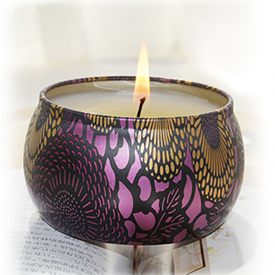 Christmas Gift Weddingcandle Box Tin Lavender Party Candles Scented Birthday Aromatherapy Kaars Candels Home Decoration 30C0053  1