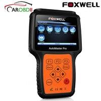 FOXWELL NT624 PRO полный Системы OBD2 сканер OBD 2 автомобиля диагностический инструмент ABS воздушная подушка SRS SAS EPB масла сброса ODB2 автомобильной скан