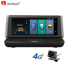 Junsun E35 DVR Car Camera 4G ADAS Android 5.1 FHD 1080P Video Recorder RAM 1G / ROM 16G Registrar DVR with Two Cameras