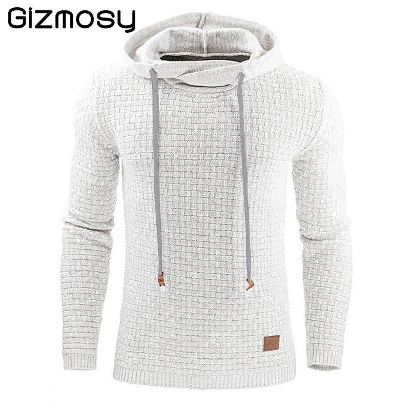 Hoodies Men Brand Male Long Sleeve Solid Color Hooded Sweatshirt Mens Hoodie Tracksuit Sweat Coat Casual Sportswear S-4XL BN2155