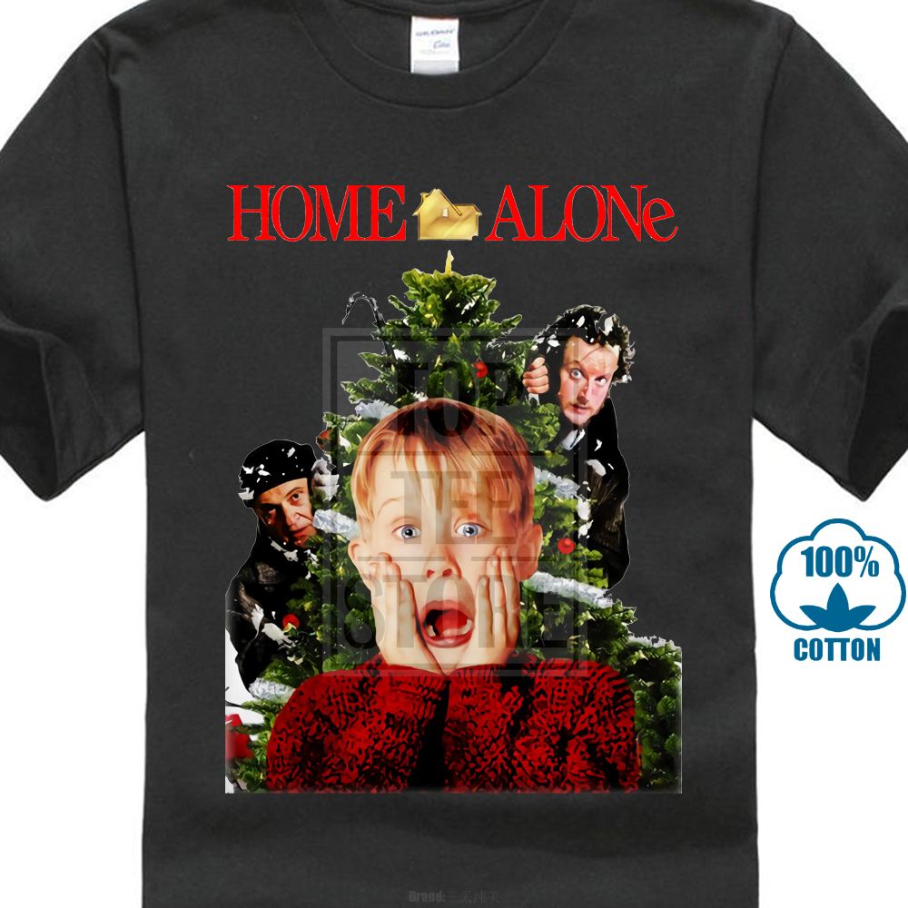home alone xmas party movie cover christmas t shirt unisex or jumper s to 4xl - Home Alone Christmas Movie