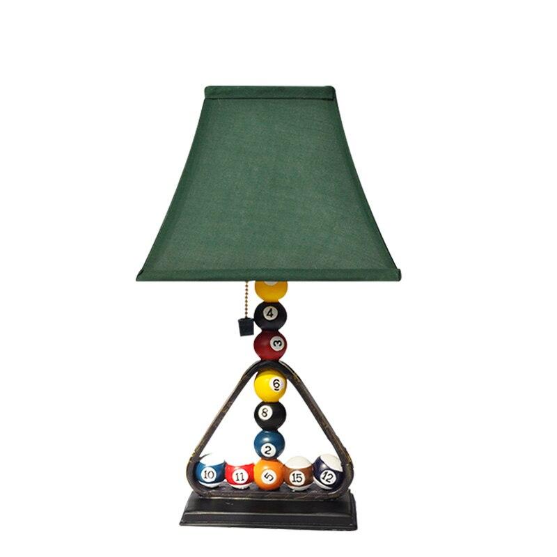 Clothing Desk Lights Modern Creative Billiards Table Lamps