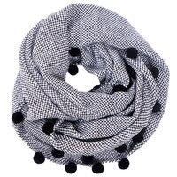 Charming Autumn Winter Women Wool Collar Neck Warmer Crochet Ring Scarf For Women
