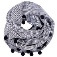 Top Sell Autumn Winter Women Wool Collar Neck Warmer Crochet Ring Scarf For Women