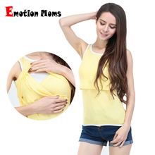 2015 Hot wholesale!New Striped Patchwork  Sleeveless Maternity tops Breastfeeding Clothes Nursing Tops 8 Colors