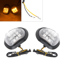 Motorcycle Turn Signal 2pcs Super Bright LED Steering Indicator Honeycomb Lamp for wholesale