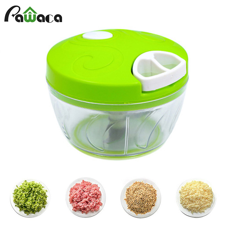 Vegetable Chopper Blender Nuts-Onions Hand-Pull-Mincer Food-Processor Fruits Manual Mixer